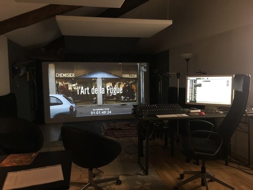 sala doppiaggio kitchenfilm